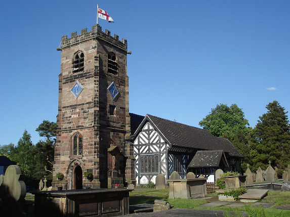 St Oswald's, Lower Peover