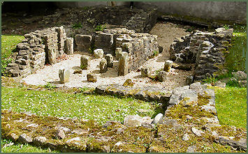 Roman Bath House and Wery Wall, Lancaster