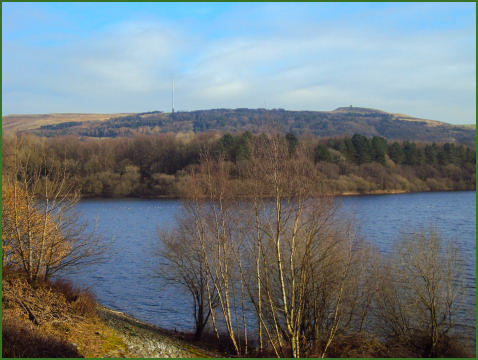 Rivington Reservoirs