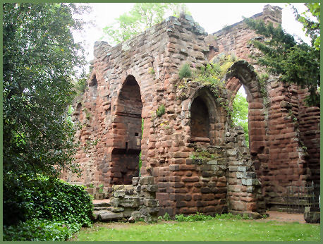Ruins of St. John's Church, Chester
