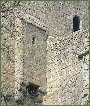 Peveril Castle Garderobe