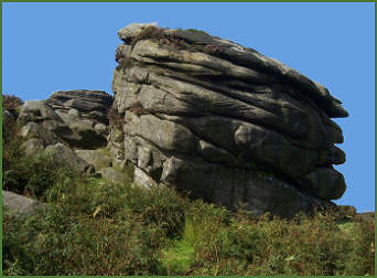 Cowper Stone, Stanage Edge