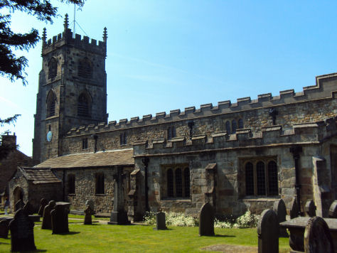 Church of St. Peter and St. Paul, Bolton by Bowland
