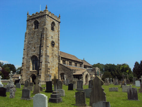 St Helens Church, Waddington
