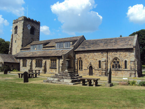 St Wilfred's Church, Ribchester