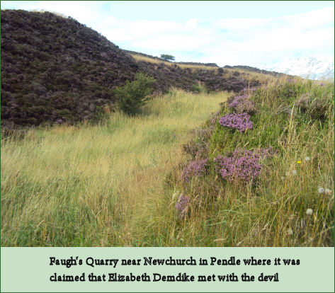 Faugh's Quarry, Newchurch-in-Pendle