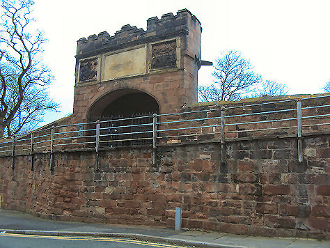 Goblin Tower, Chester city walls
