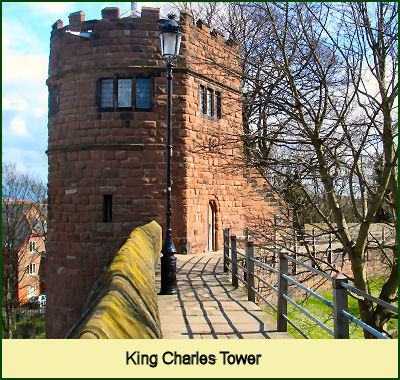 King Charles Tower, Chester